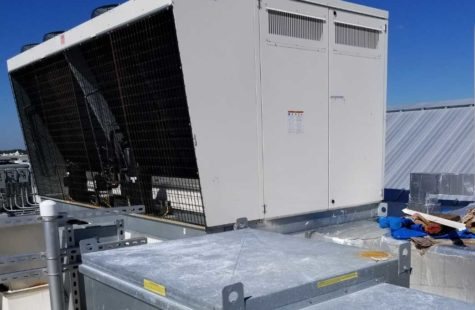 Commercial RoofTop AC Installation